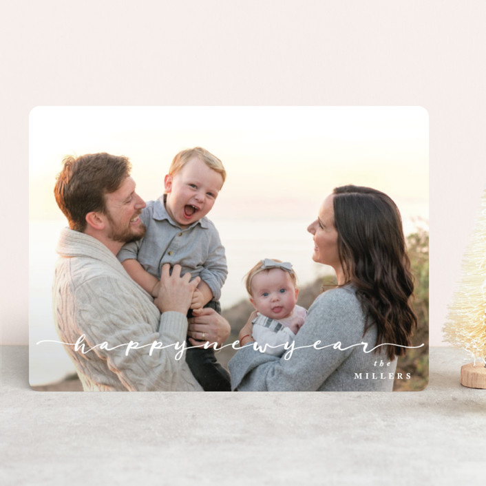 """""""All Together"""" - Holiday Photo Cards in Snow by Owl and Toad."""