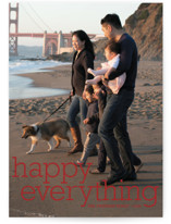 Happy Everything Holiday Photo Cards