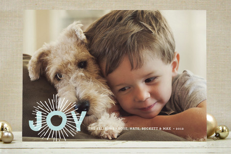 Shine Bright Holiday Photo Cards
