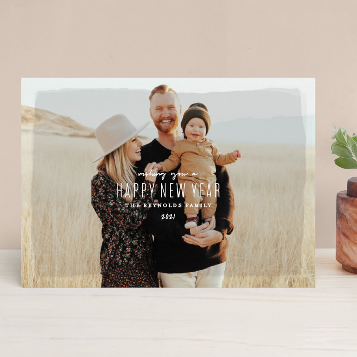 """""""Heirloom Holiday"""" - Holiday Photo Cards in Desert by Melissa Egan of Pistols."""