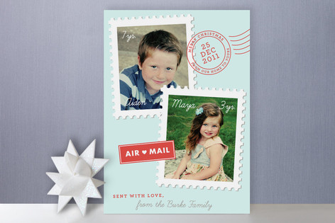 Holiday Postage Holiday Photo Cards