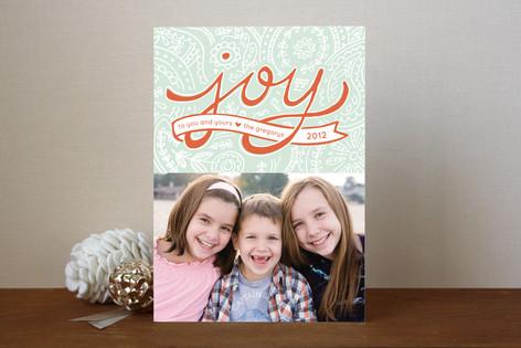 Paisley Joy Holiday Photo Cards