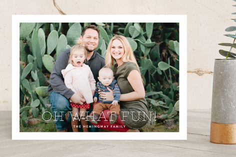 Souvenir Holiday Photo Cards