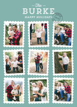 Stamp Collection Holiday Photo Cards By Kaydi Bishop