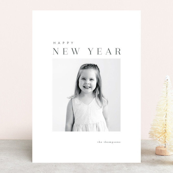 """""""razzleberry"""" - Holiday Photo Cards in Coal by chocomocacino."""