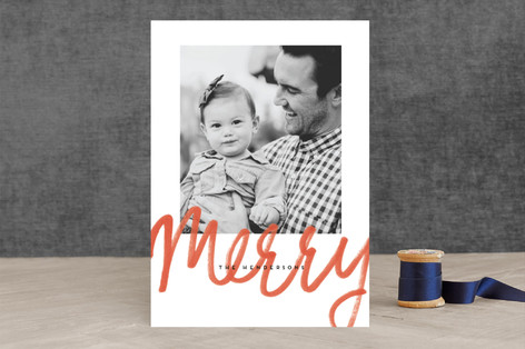 Merrymaking Holiday Photo Cards