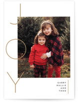 This is a brown holiday photo card by Susan Brown called Your reasons with standard printing on smooth signature in standard.