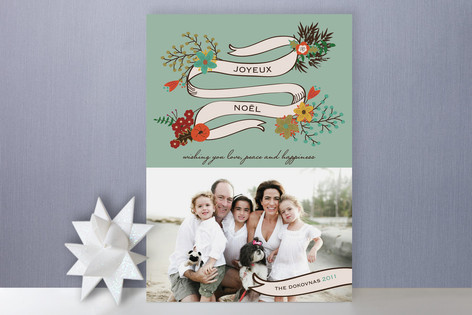 Magie de Noel Holiday Photo Cards
