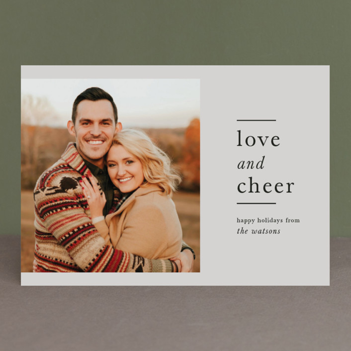 Opus Holiday Photo Cards By Carly Reed Walker
