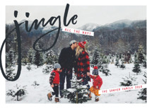 Jingle Holiday Photo Cards By Erin German Design
