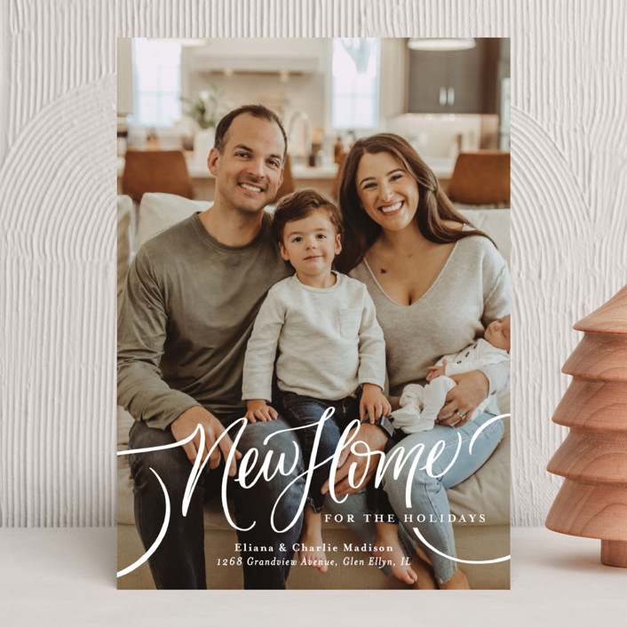 """""""A New Home for the Holidays"""" - Holiday Photo Cards in Cozy by Erin German."""