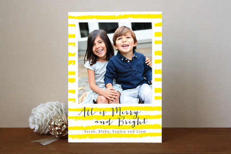 All is Bright Holiday Photo Cards