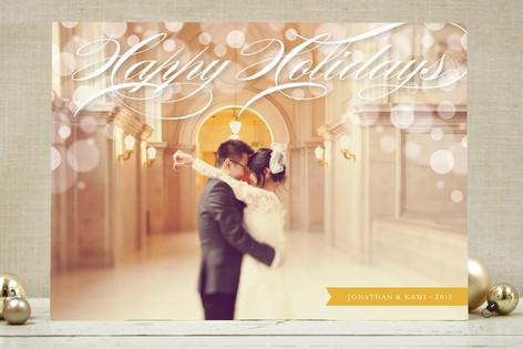 Illuminated Holiday Photo Cards