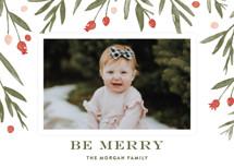 Winter Harvest Holiday Photo Cards By Oscar & Emma