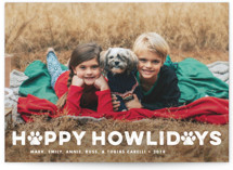 Howliday Paws Holiday Photo Cards