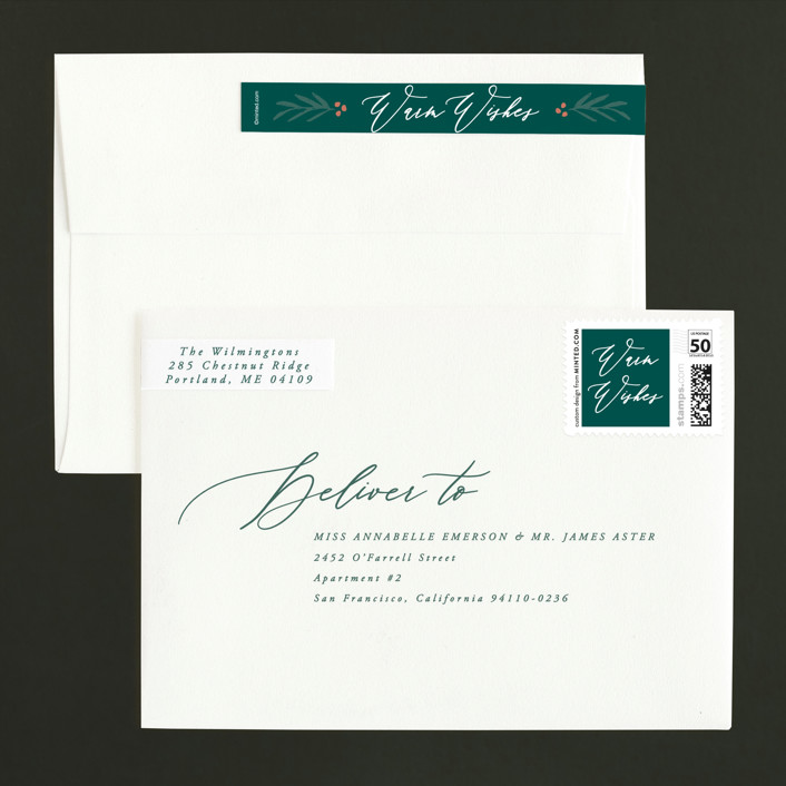 Surname Statement Holiday Photo Cards by Hooray Creative ...