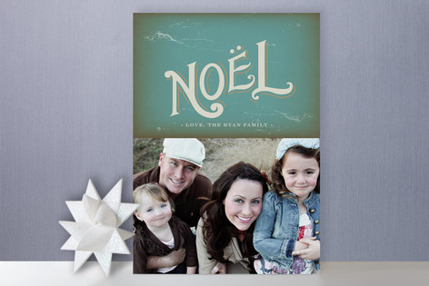 Illuminated Manuscript Holiday Photo Cards