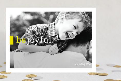 Be Joyful Holiday Photo Cards