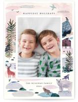 Winter Ice Holiday Photo Cards By Morgan Ramberg