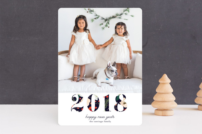 """Joy of all Colors"" - Holiday Photo Cards in Snow by Christy Vespa."