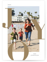 Supreme Joy Holiday Photo Cards By Michelle Taylor
