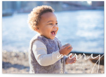 Simple Corner Holiday Photo Cards By Amy Kross