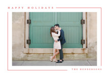 Simply Serene Holiday Photo Cards By Lauren Chism