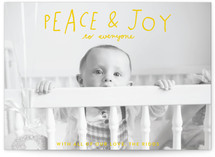 Hand Lettered Peace and... by Half Pint Studio