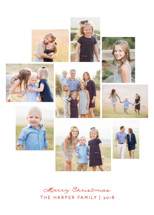 Christmas Collage Holiday Photo Cards By Kimberly Morgan