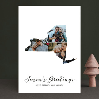 Love Location Holiday Photo Cards