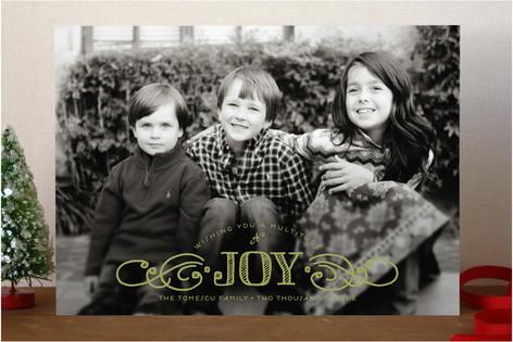 Multiplied Joy Holiday Photo Cards