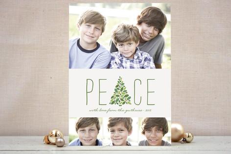 Arbor Peace Holiday Photo Cards