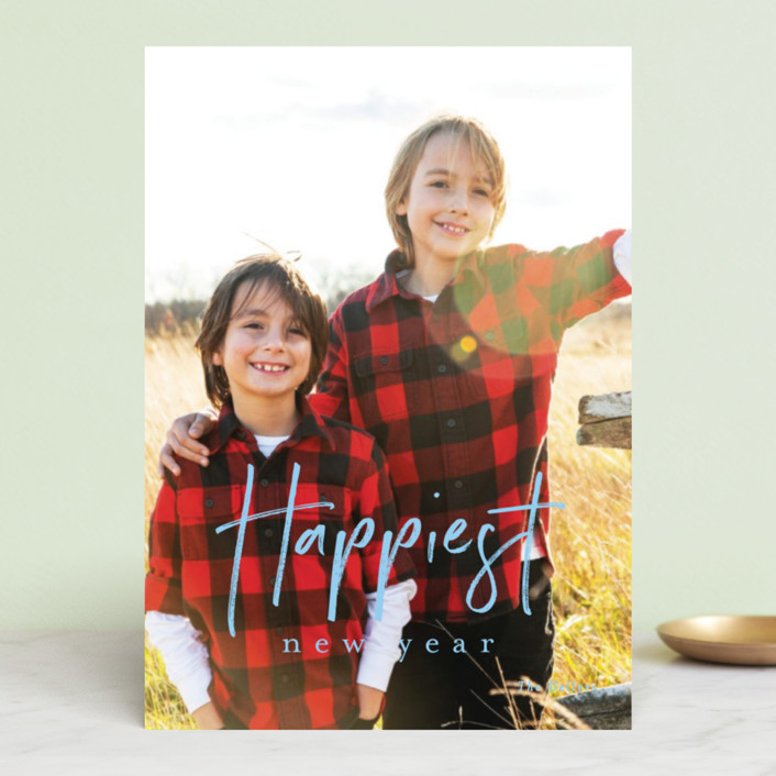 """canoli"" - Holiday Photo Cards in Peach by chocomocacino."