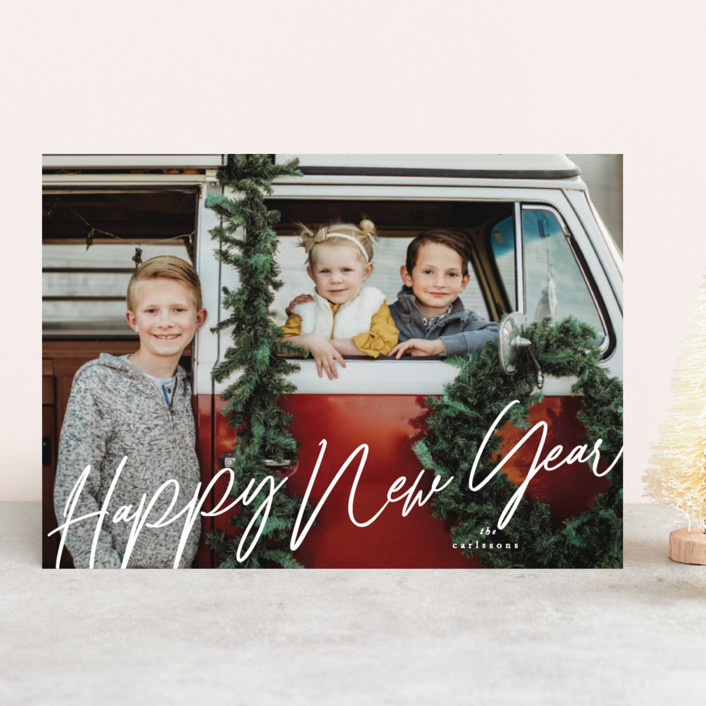 """""""bourbon"""" - Holiday Photo Cards in Snow by chocomocacino."""