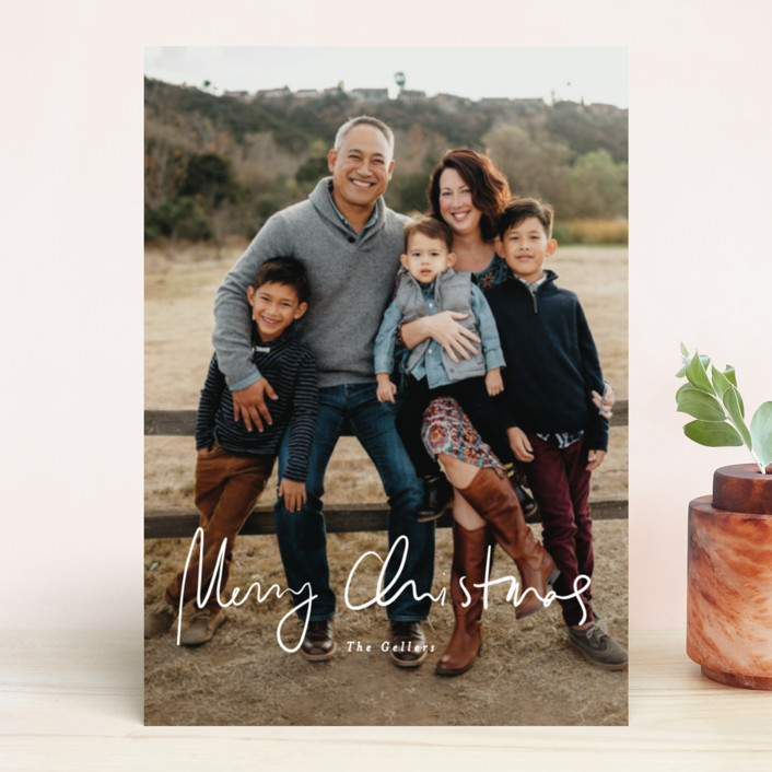"""tres leches"" - Holiday Photo Cards in Polar Bear by chocomocacino."
