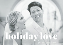 vintage holiday love Holiday Photo Cards By Sara Hicks Malone