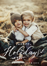 All Chalked Up Holiday Photo Cards By Design Lotus