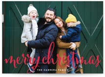 Aglow Holiday Photo Cards