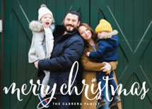 Aglow Holiday Photo Cards By annie clark