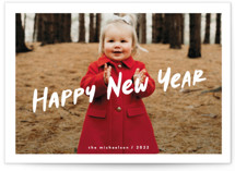 This is a white holiday photo card by chocomocacino called compote with standard printing on smooth signature in standard.
