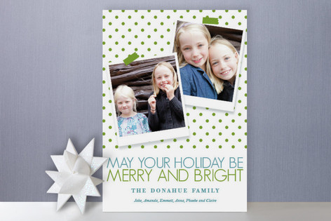 Festive Greetings Holiday Photo Cards