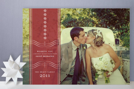Sweet Memories Holiday Photo Cards