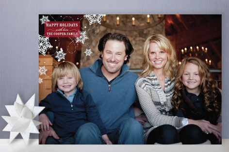Sweet Snow Holiday Photo Cards