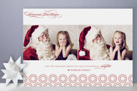 Holiday Delights Holiday Photo Cards