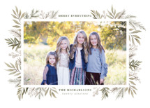 Berries + Pine Holiday Photo Cards By Wildfield Paper Co.