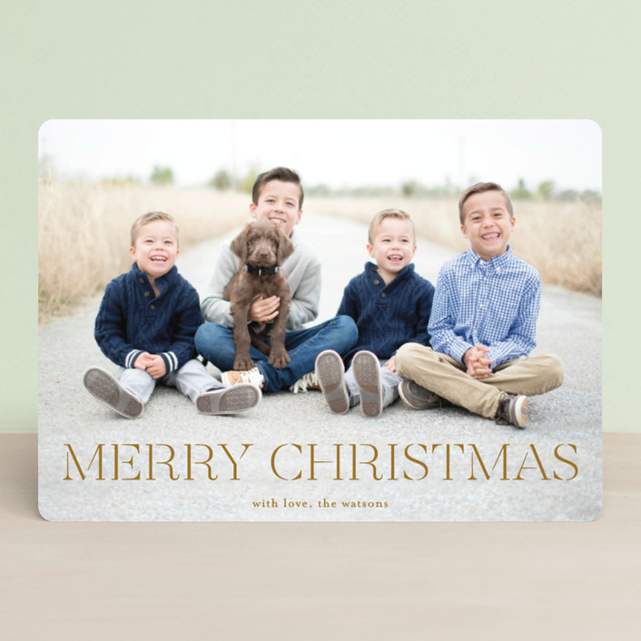 """""""formal fancy merry"""" - Holiday Photo Cards in Snow by Phrosne Ras."""