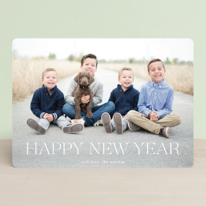 """formal fancy merry"" - Holiday Photo Cards in Snow by Phrosne Ras."