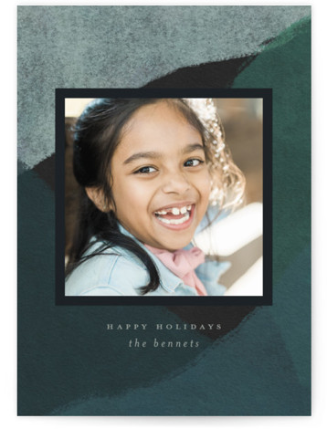 Peaks and Valleys Holiday Photo Cards