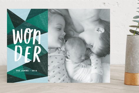 Wonder Holiday Photo Cards
