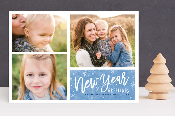 """sparkly Christmas"" - Holiday Photo Cards in Ice by Karidy Walker."